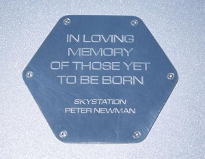 In loving memory of those yet to be born